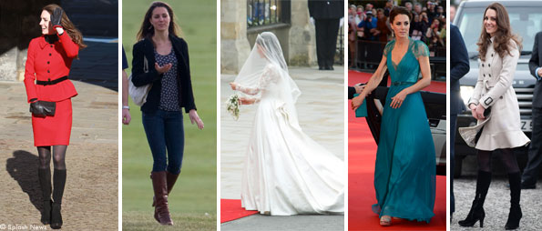Kate Middleton Outfits & Style