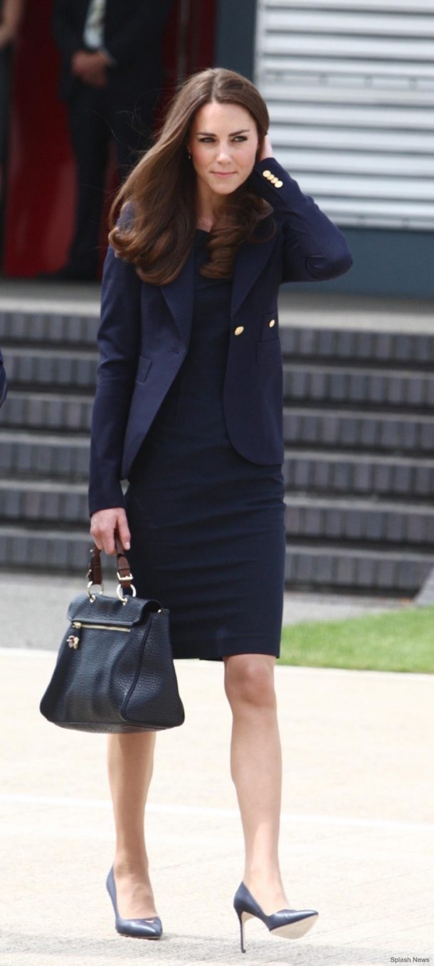 Kate Middleton at Heathrow Airport ahead of the Canada 2011 tour