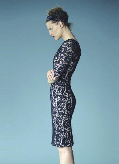 Kate Middleton Blue Erdem Dress