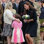 Kate visits the Irish Guard