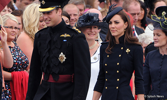 Kate wears Alexander McQueen military jacket to Armed Forces Day ceremony