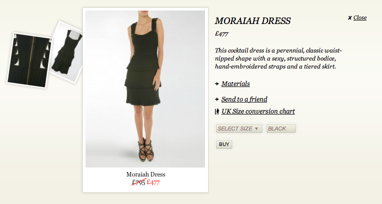 Moraiah Dress Kate Middleton