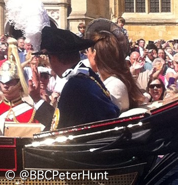 Kate Order of the Garter