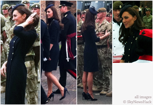 Kate Middleton Irish Guards