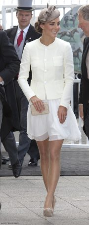 Kate Middlton's outfit for the 2011 Epsom Derby