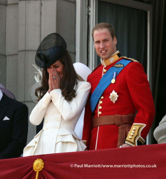Kate at Trooping the Colour © Paul Marriott