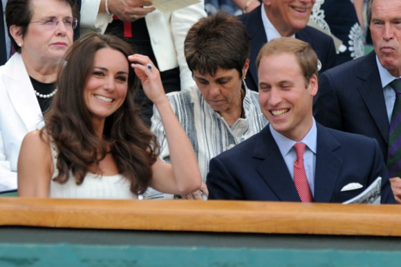 Will & Kate Wimbledon 2011