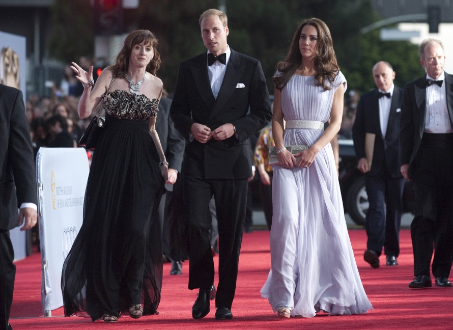 Kate and Will Stun Crowds at BAFTA Event in LA