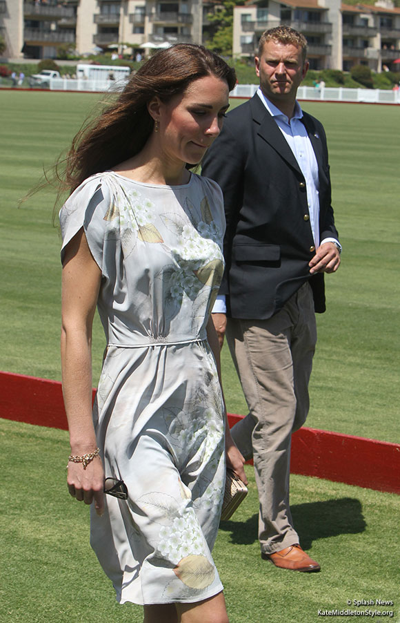 Kate Middleton at the Polo Club, California, USA