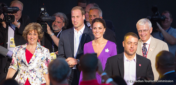William and Kate attend the Canada Day Concert