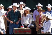 William and Kate were the guests of honour at the Calgary Stampede in 2011