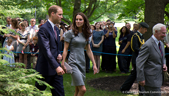William and Kate in Ottawa