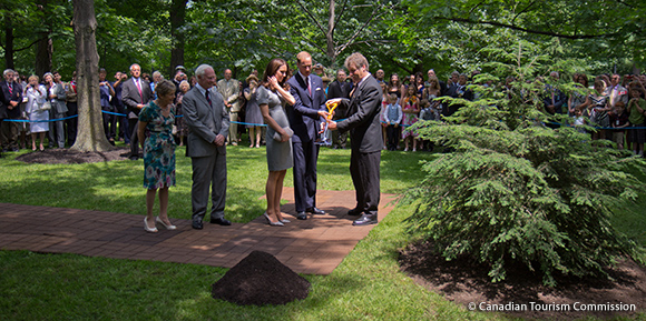 Tree planting ceremony