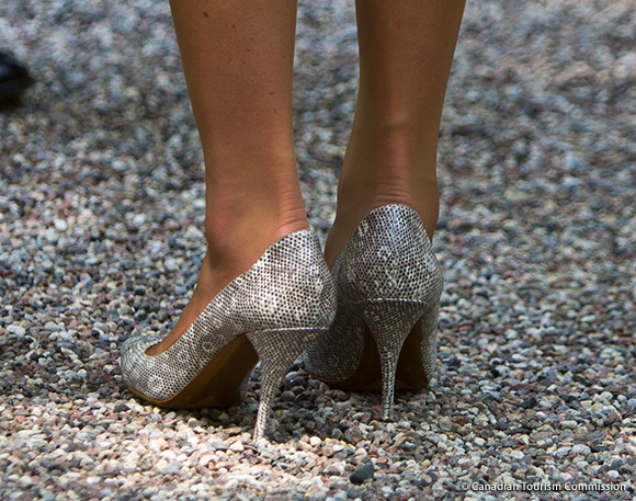 Tabitha Simmons Dela Silver Printed Shoes