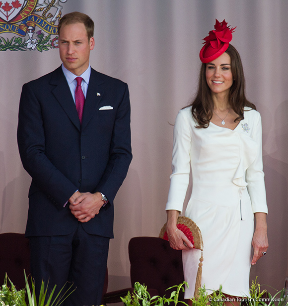 William and Kate in Canada Day