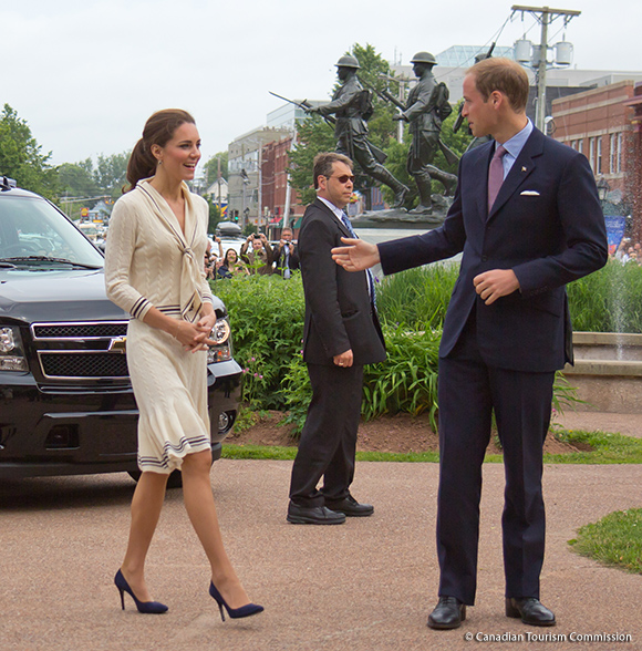 Catherine on Day 5 of the 2011 Royal Tour