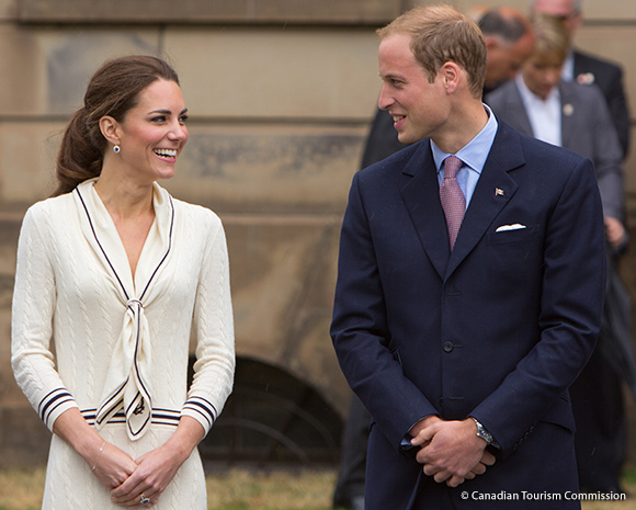 William and Kate at Charlottetown, Prince Edward Island