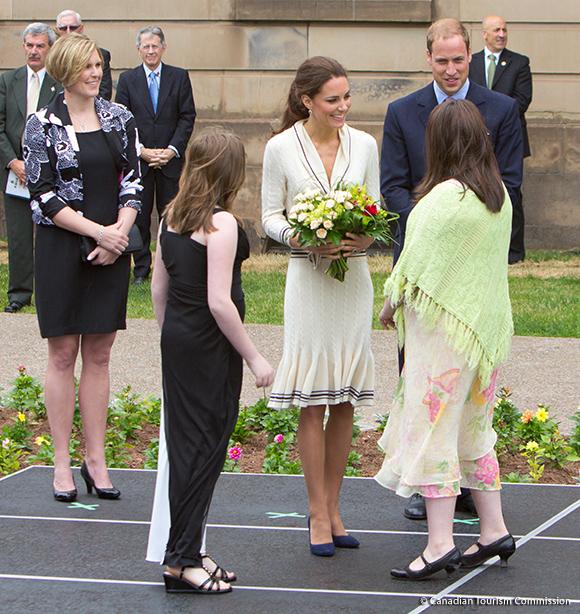 Duke & Duchess in Charlottetown, Prince Edward Island