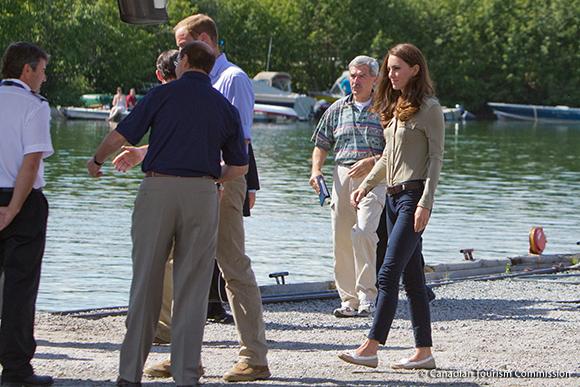 Duchess of Cambridge wears Sebago Bala shoes in Canada