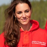 Kate wore her ranger's sweatshirt