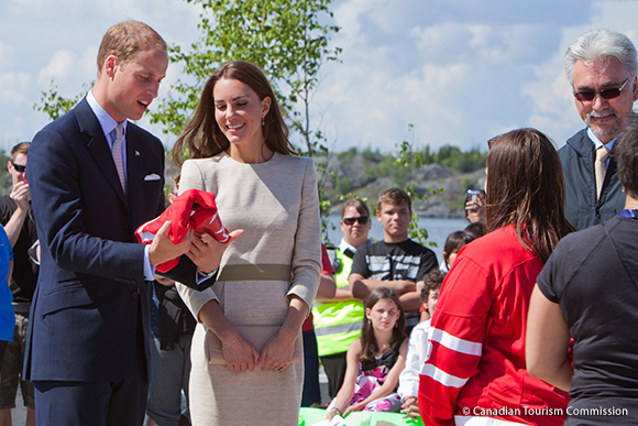 William and Kate Hockey Jerseys