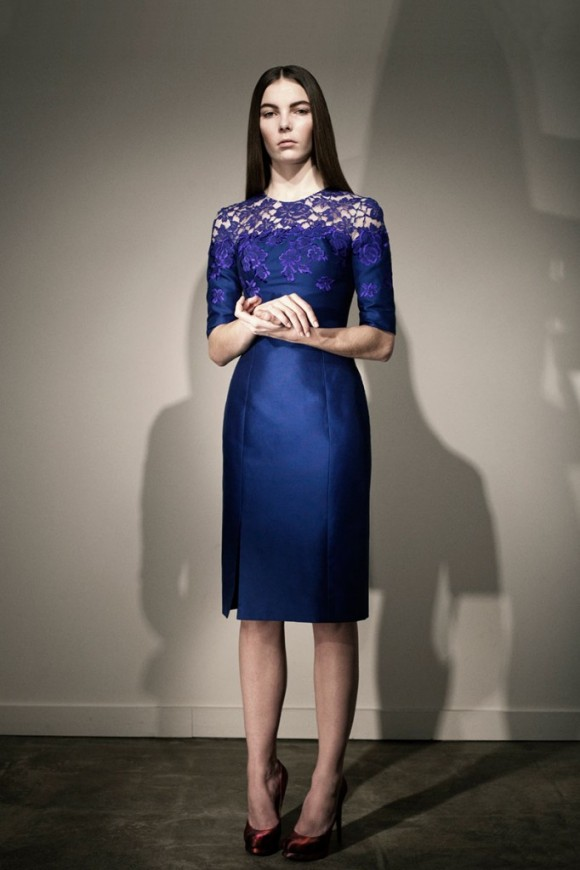 Erdem Jacquenta Dress
