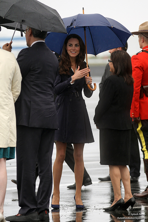 Kate arrives in Yellowknife
