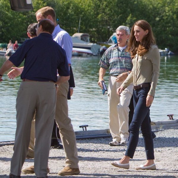 Kate Middleton wearing her Sebago Bala Dock shoes in Canada, 2011