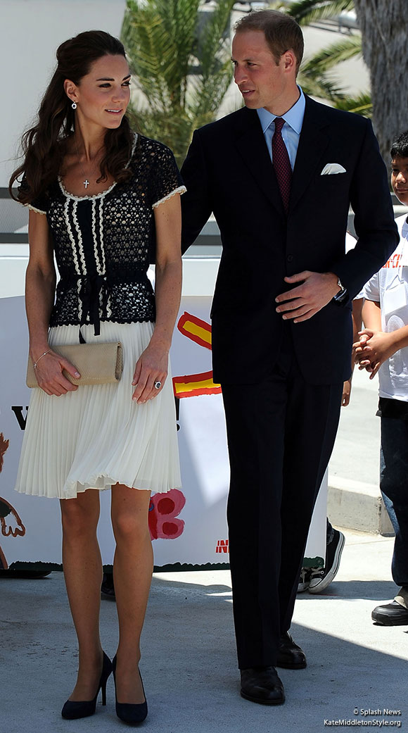William & Kate visit the Inner-City Arts Project in Los Angeles