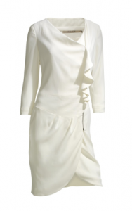 Reiss white nanette dress