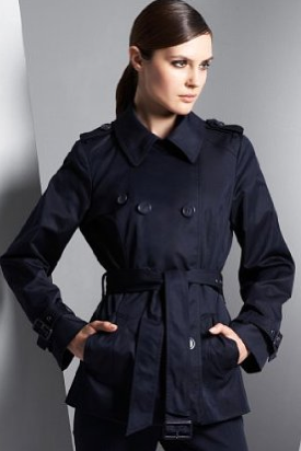 Blue Trench Coat Like Kate's