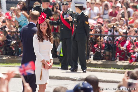 William and Kate attend Canada Day celebrations