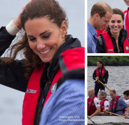 Kate goes dragonboat racing