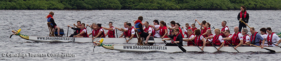 William and Kate Dragon Boat Racing