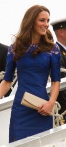 Kate Middleton Blue Lace Erdem
