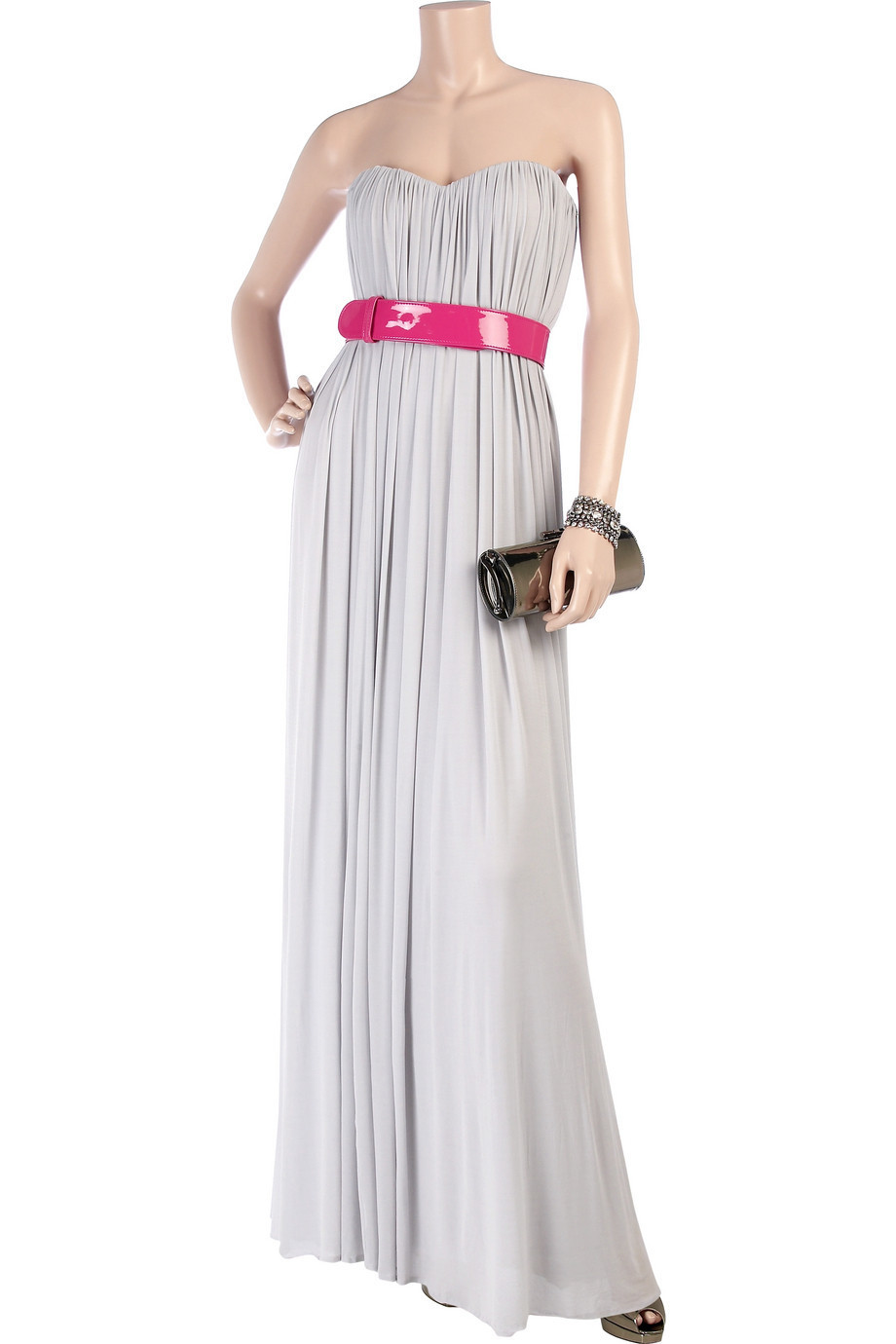 Alexander McQueen lilac gown