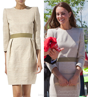 kate dress shoulder pads