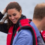 William and Kate head to the lake for a spot of Dragon Boat Racing