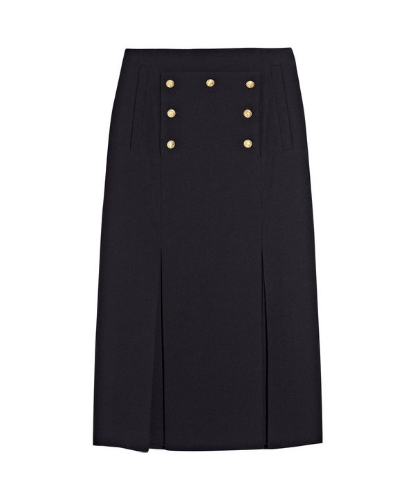 Alexander McQueen Military Skirt