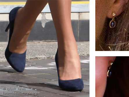 kate earrings shoes