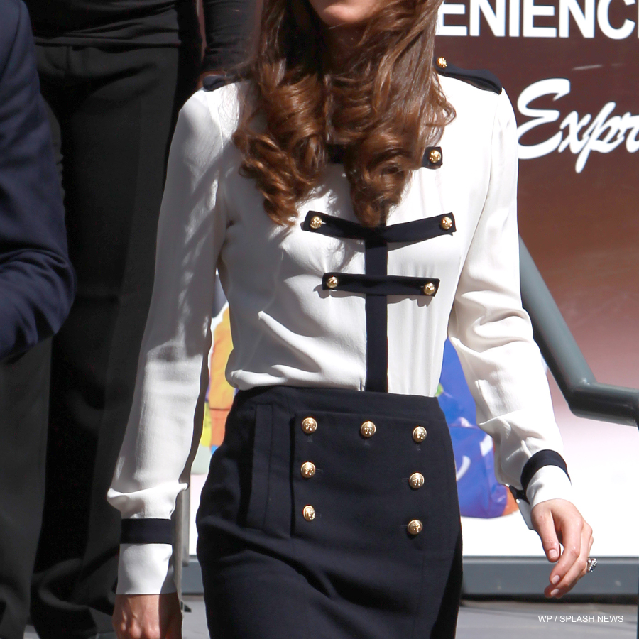 Kate Middleton's Alexander McQueen Military Blouse