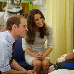 Kate in Amanda Wakeley dress for Royal Marsden visit