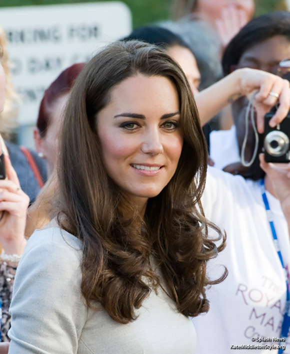 Kate visits the Royal Marsden Hospital