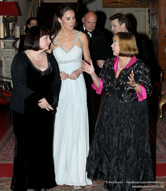 The Duchess of Cambridge meets supporters of In Kind Direct.