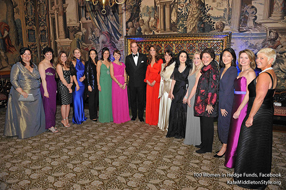 100WHF raised over £675,000 at its London Gala last night at St. James's Palace in the presence of TRH The Duke and Duchess of Cambridge for the Child Bereavement Charity. Galia Velimukhametova of GLG Partners presented with Industry Leadership Award.