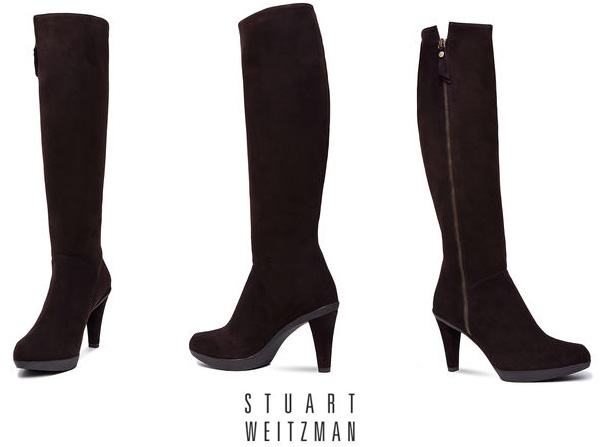 Stuart Weitzman Zipkin Boots, As Seen On Kate.