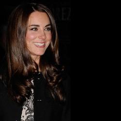 Kate in Zara dress & Ralph Lauren blazer for Gary Barlow charity gig