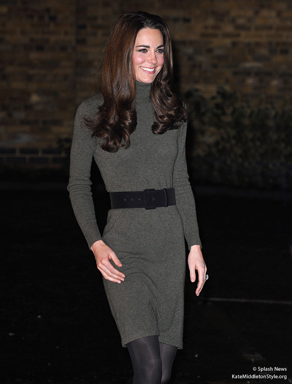 Kate wore a Ralph Lauren dress to the Centrepoint event