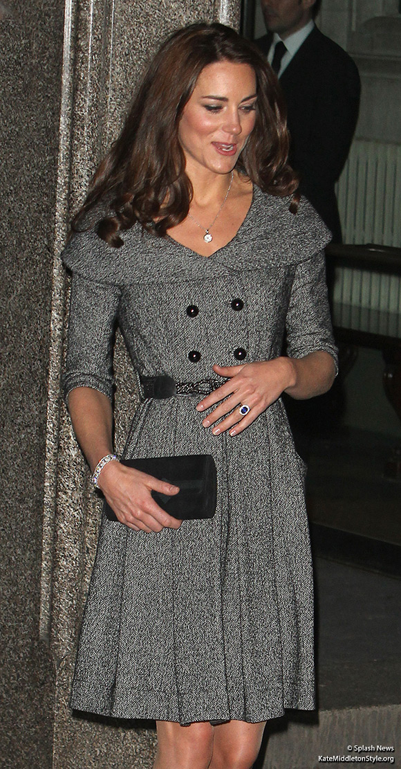 Catherine, Duchess of Cambridge at The National Portrait Gallery