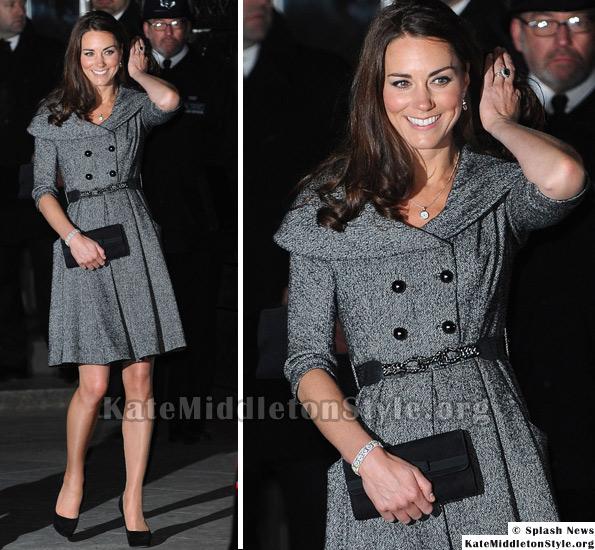 Kate grey Jesire coat dress